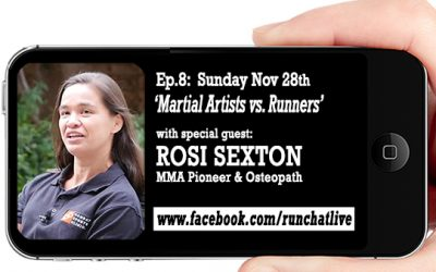 Ep.8: Rosi Sexton: MMA Pioneer and Osteopath