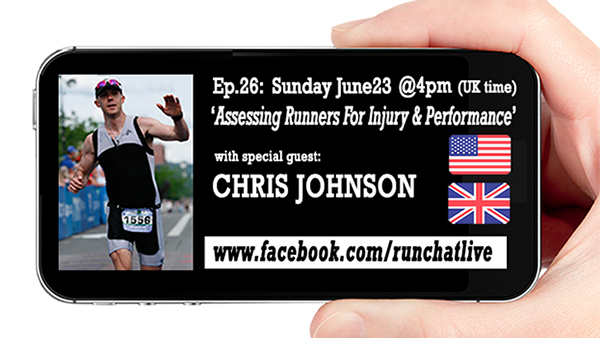 RCL26 Assessing Runners with Chris Johnson