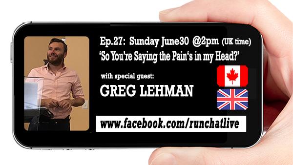 RCL27 Understanding Pain with Greg Lehman