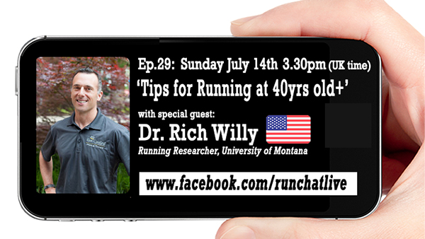 RCL29 Tips For Older Runners with Dr Rich Willy