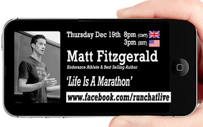 RCL37 with Matt Fitzgerald – 'Life Is A Marathon'