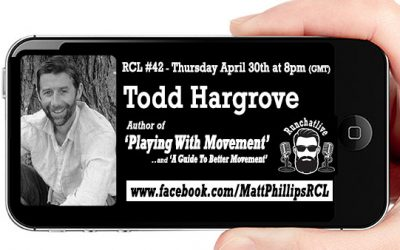 RCL42 with Todd Hargrove 'Playing With Movement'