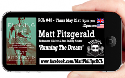 Runchatlive Ep.43 'Running The Dream' with special guest Matt Fitzgerald