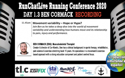Movement Variability: Hope or Hype? – Runchatlive 2020 Day 1.3 Ben Cormack Recording
