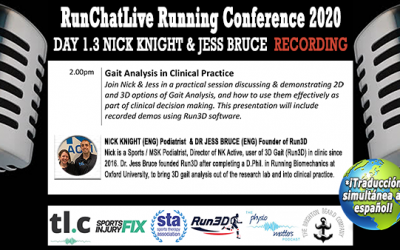 Gait Analysis For Runners – Runchatlive 2020 Day 1.4 Nick Knight and Dr. Jess Bruce Recording