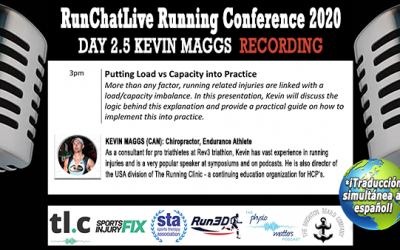 Putting Load vs Capacity into Practice – Runchatlive 2020 Day2.5 Kevin Maggs Recording